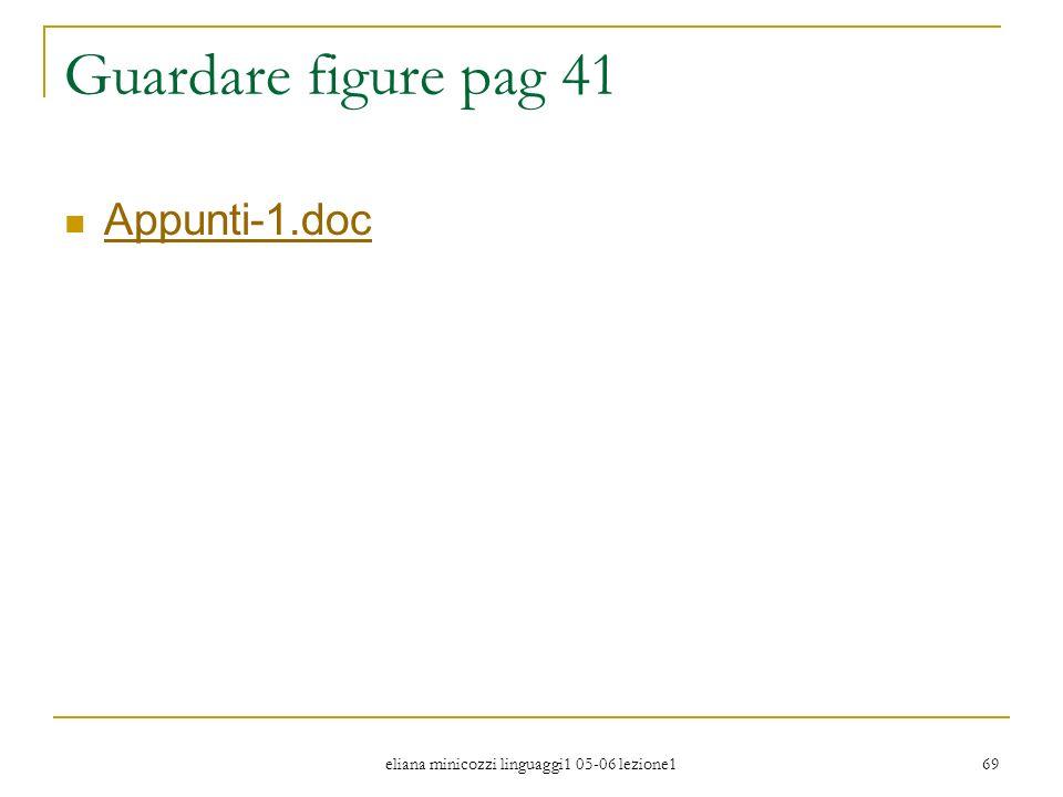 eliana minicozzi linguaggi1 05-06 lezione1 69 Guardare figure pag 41 Appunti-1.doc