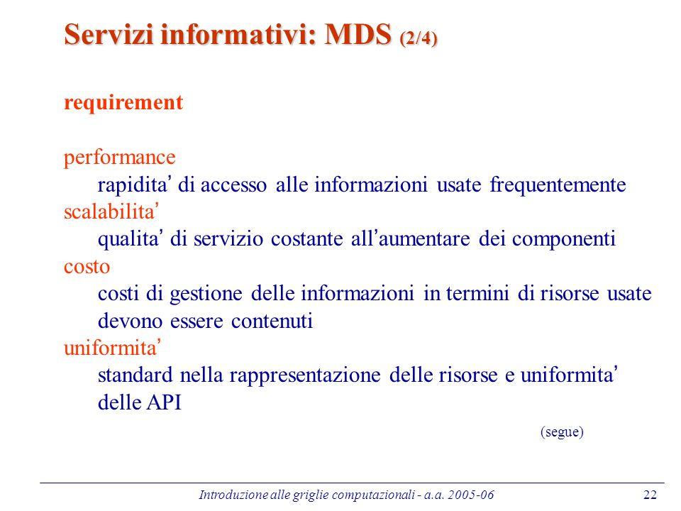 Introduzione alle griglie computazionali - a.a.