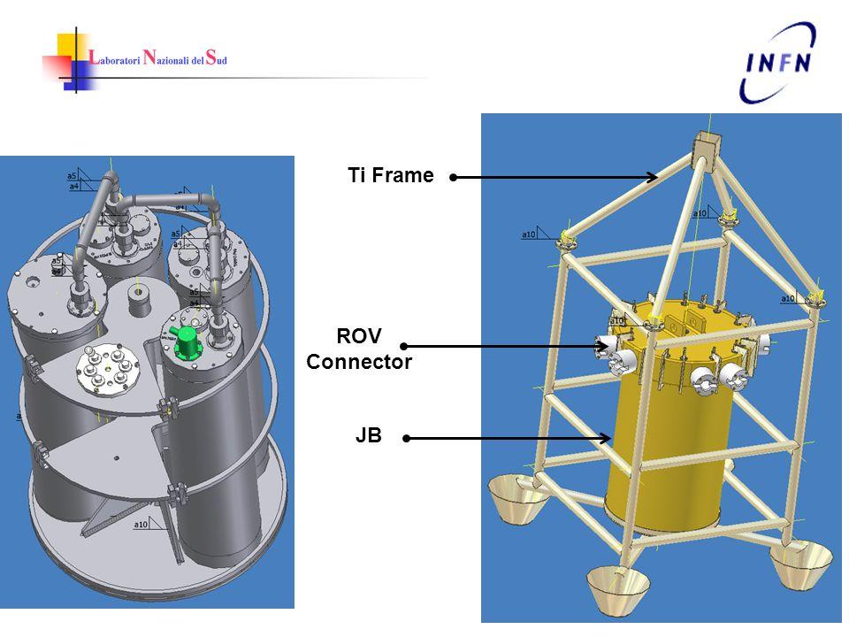 Ti Frame ROV Connector JB