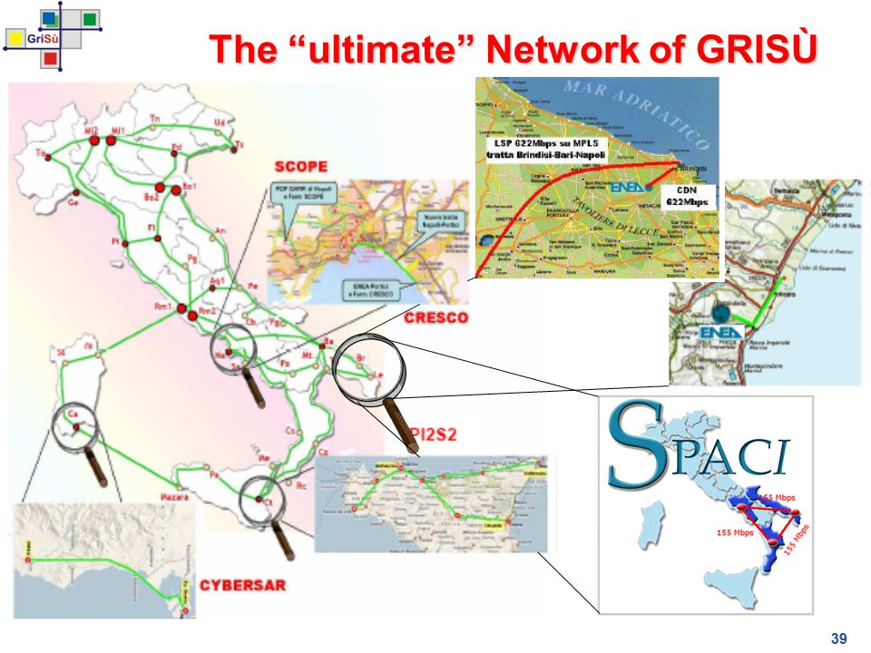 39 The ultimate Network of GRISÙ