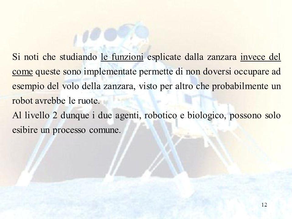 12 Si noti che studiando le funzioni esplicate dalla zanzara invece del come queste sono implementate permette di non doversi occupare ad esempio del