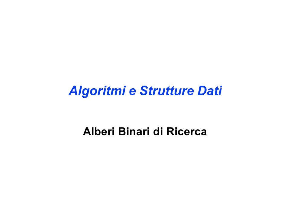 ARB: ricerca del successore II 6 2 4 3 1 8 12 15 9 T z y NIL