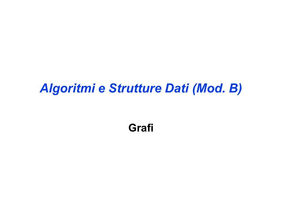 Algoritmi e Strutture Dati (Mod. B) Grafi
