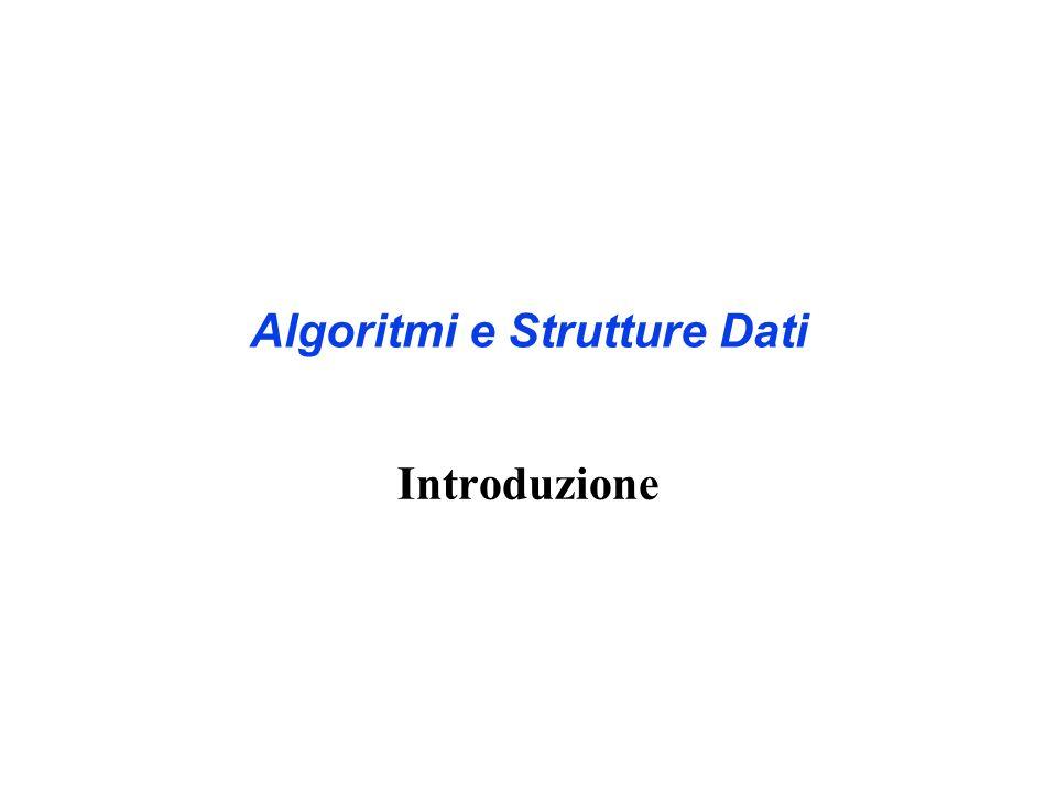 Gli argomenti di oggi Analisi della bontà degli algoritmi Modello Computazionale Tempo di esecuzione degli algoritmi Notazione asintotica Analisi del Caso Migliore, Caso Peggiore e del Caso Medio