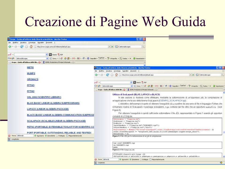 8 Creazione di Pagine Web Guida