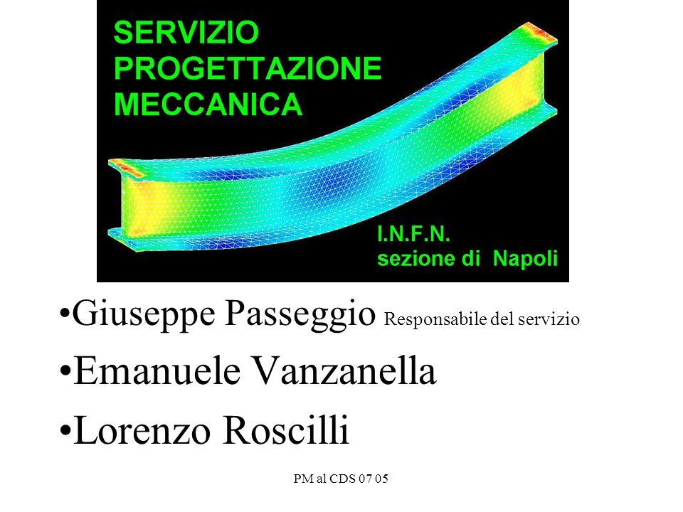PM al CDS 07 05 Giuseppe Passeggio Responsabile del servizio Emanuele Vanzanella Lorenzo Roscilli