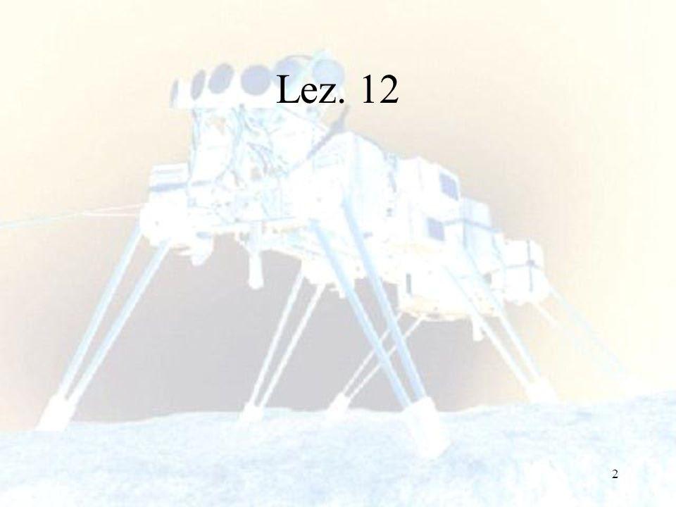 133 Il behaviour di docking illustra anche quale impatto hanno le capacità sensoriali del robot sui parametri dello schema motorio.