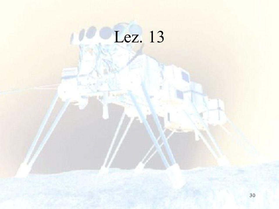 30 Lez. 13