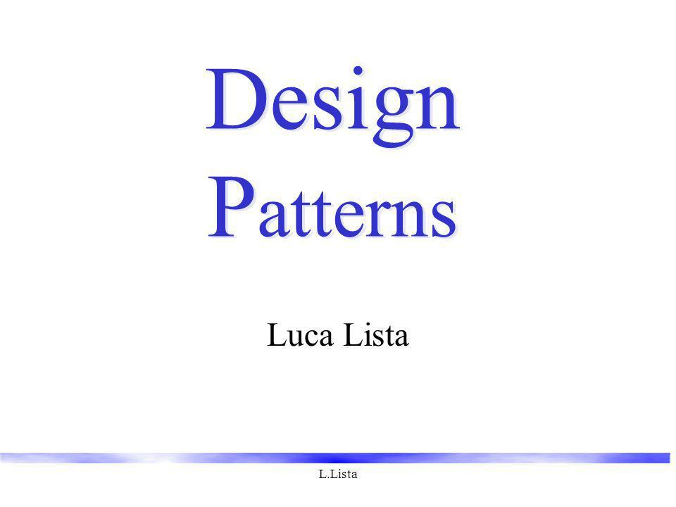 L.Lista Design P atterns Luca Lista