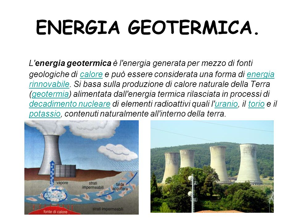 ENERGIA GEOTERMICA.