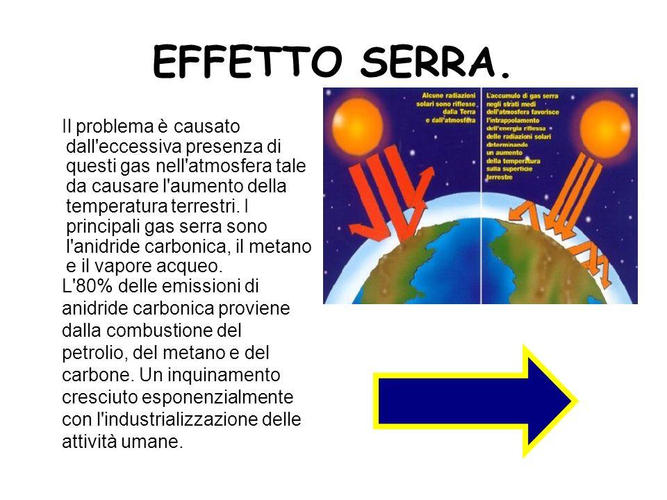 EFFETTO SERRA.