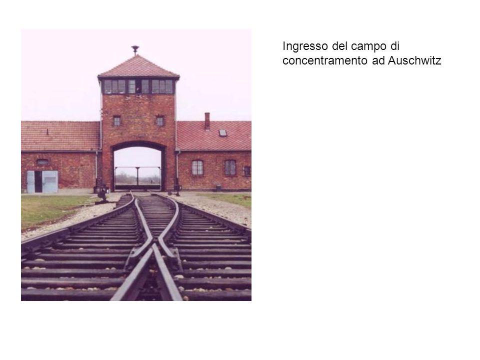 Ingresso del campo di concentramento ad Auschwitz