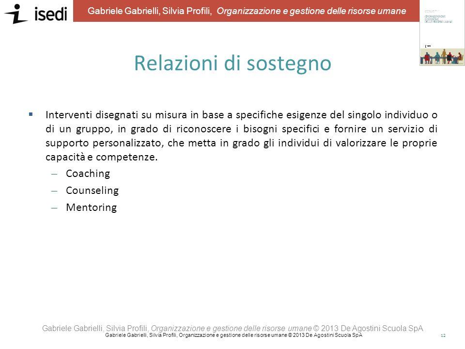 11 Gabriele Gabrielli, Silvia Profili, Organizzazione e gestione delle risorse umane People value mapping Sistema di mappatura delle risorse umane che
