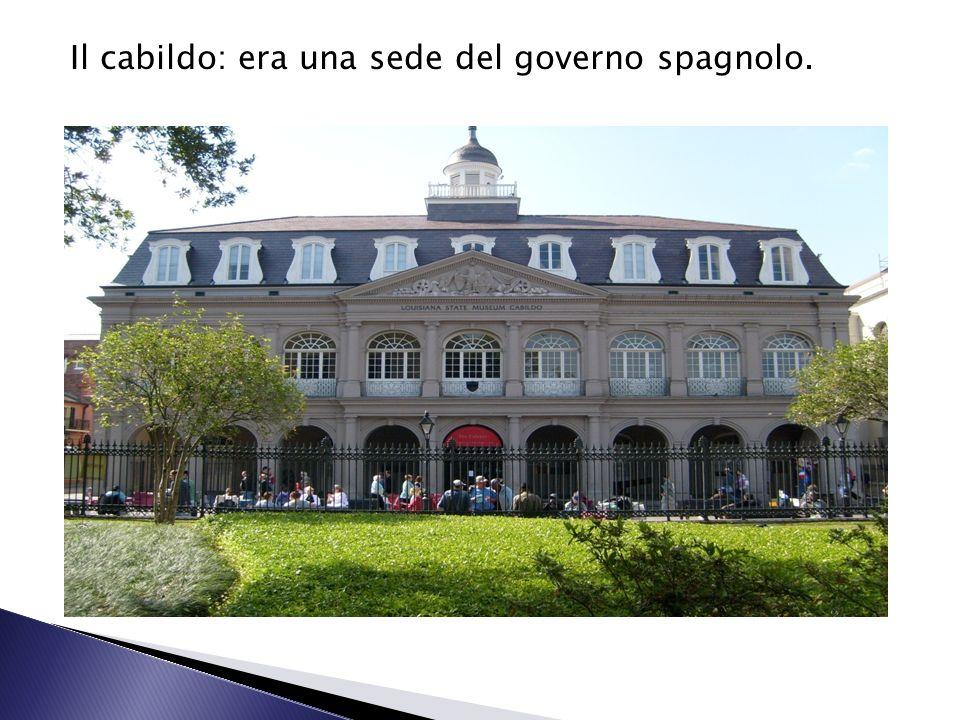 Il cabildo: era una sede del governo spagnolo.