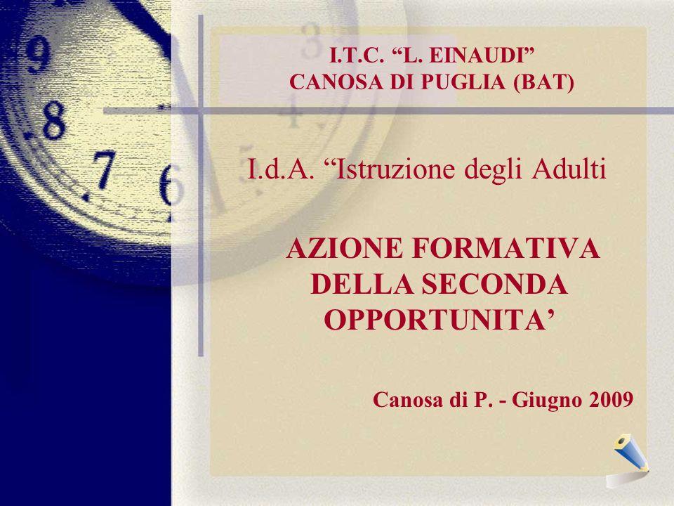 I.T.C. L. EINAUDI CANOSA DI PUGLIA (BAT) I.d.A.