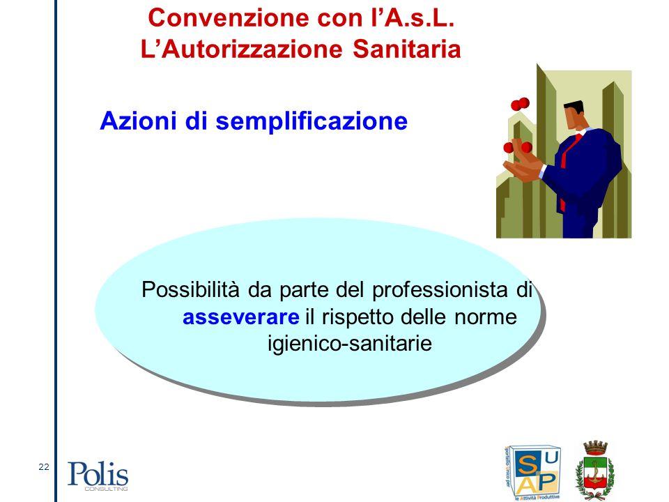 22 Convenzione con lA.s.L.