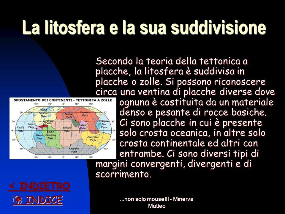 ...non solo mouse!!! - Minerva Matteo Le prove secondo Wegener Prove geografiche: corrispondenza fra le coste atlantiche del continente africano e que