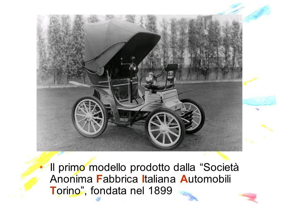 Il primo modello prodotto dalla Società Anonima Fabbrica Italiana Automobili Torino, fondata nel 1899