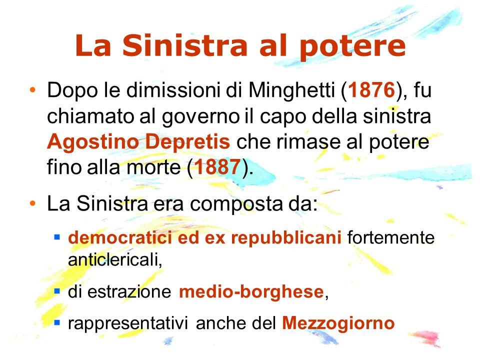 I governi Depretis (1876-1887)