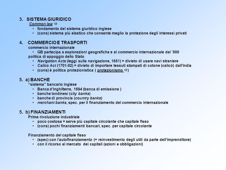 3. SISTEMA GIURIDICO Common law fondamento del sistema giuridico inglese (cons) sistema più elastico che consente meglio la protezione degli interessi