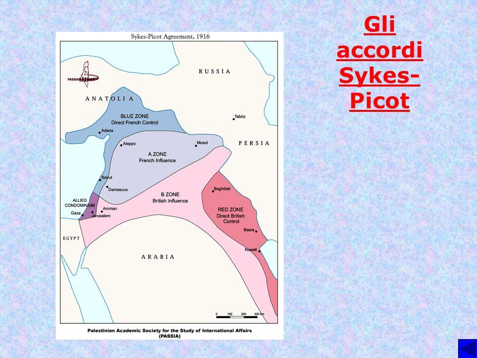 Gli accordi Sykes- Picot