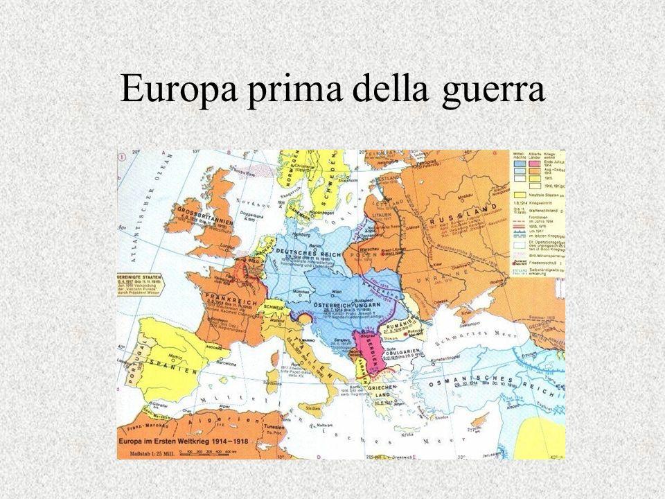 Europa prima della guerra