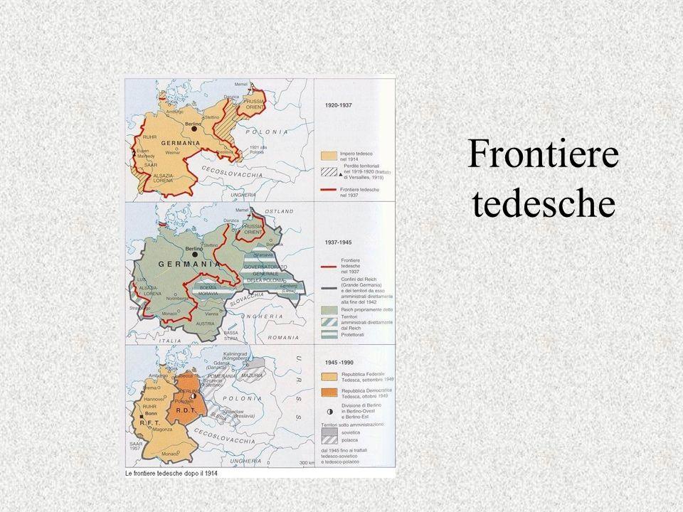 Frontiere tedesche