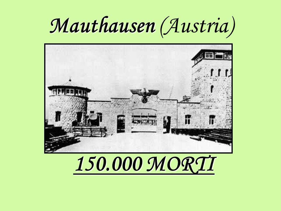 Mauthausen Mauthausen (Austria) 150.000 MORTI