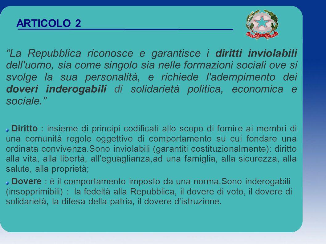 ARTICOLO 10 note aggiuntive Primo comma: sancisce costituzionalmente che le norme di diritto internazionale vengano in quanto fonti esterne a far parte automaticamente dell ordinamento giuridico (regolamenti comunitari).