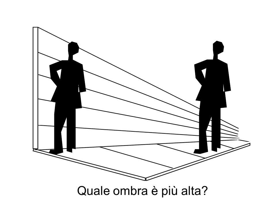 Quale ombra è più alta?