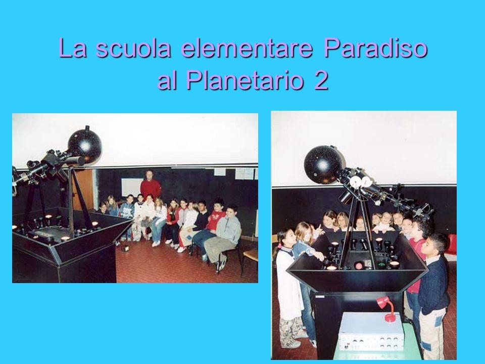 La scuola elementare Paradiso al Planetario 2