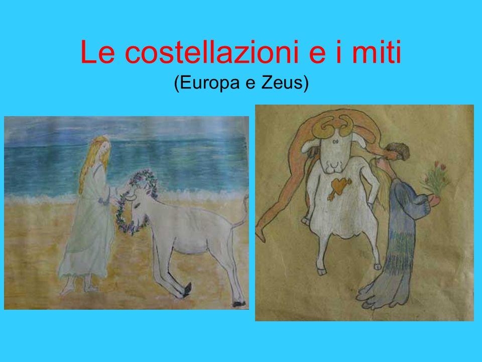 Le costellazioni e i miti (Europa e Zeus)