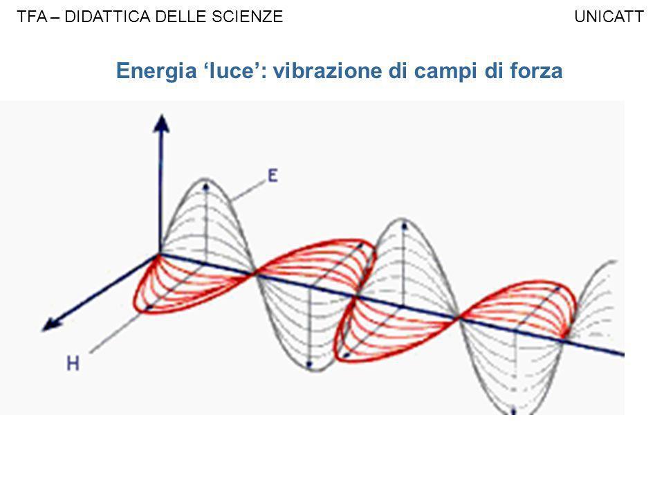 Energia luce: vibrazione di campi di forza