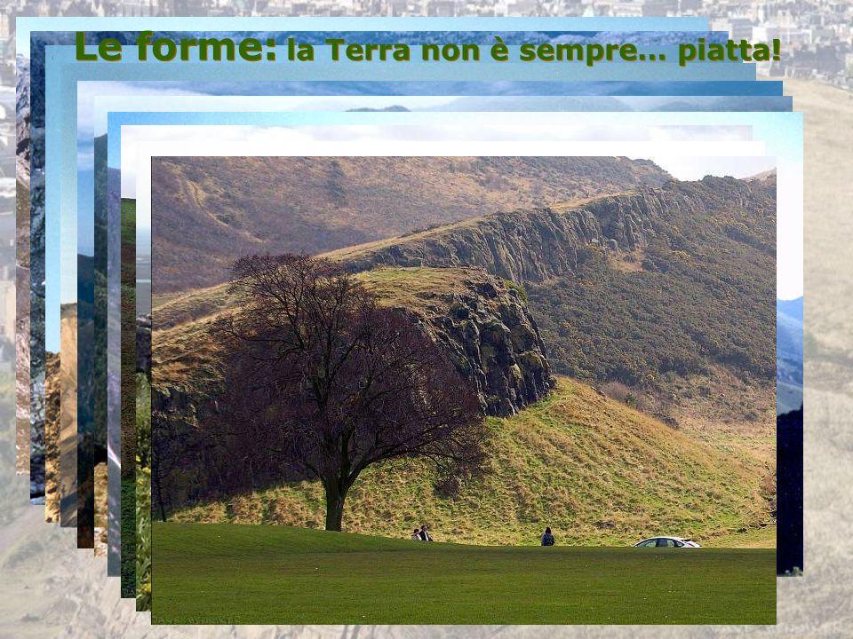 Altri equilibri: valli e meandri Condizione di EQUILIBRIO DINAMICO tra erosione verticale ed erosione orizzontale Condizione di EQUILIBRIO DINAMICO tra erosione verticale ed erosione orizzontale Erosione Deposito Erosione Deposito