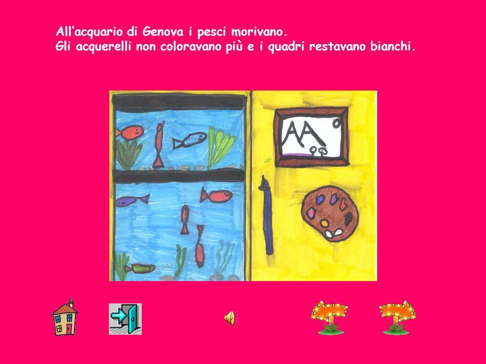 Allacquario di Genova i pesci morivano.