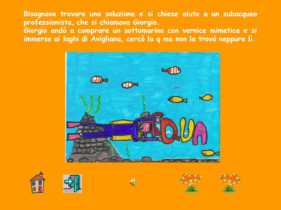 Allacquario di Genova i pesci morivano. Gli acquerelli non coloravano più e i quadri restavano bianchi.