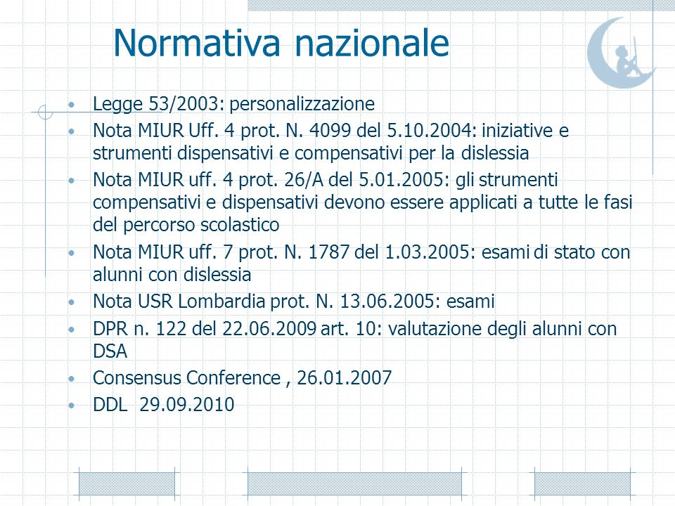 Alcune normative regionali Nota USR Lombardia prot.