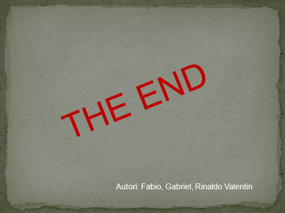 THE END Autori: Fabio, Gabriel, Rinaldo Valentin