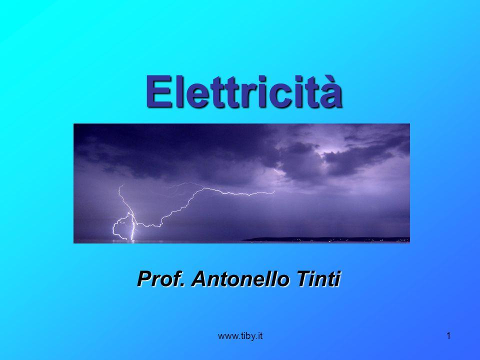 www.tiby.it1 Elettricità Prof. Antonello Tinti