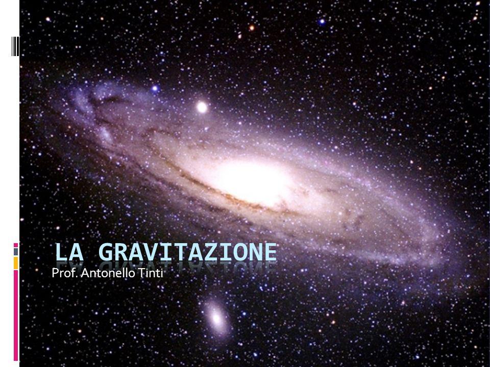 La gravità terrestre La gravità celeste La forza di attrazione gravitazionale