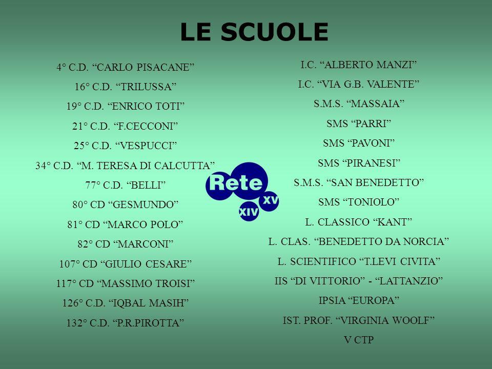 4° C.D. CARLO PISACANE 16° C.D. TRILUSSA 19° C.D.