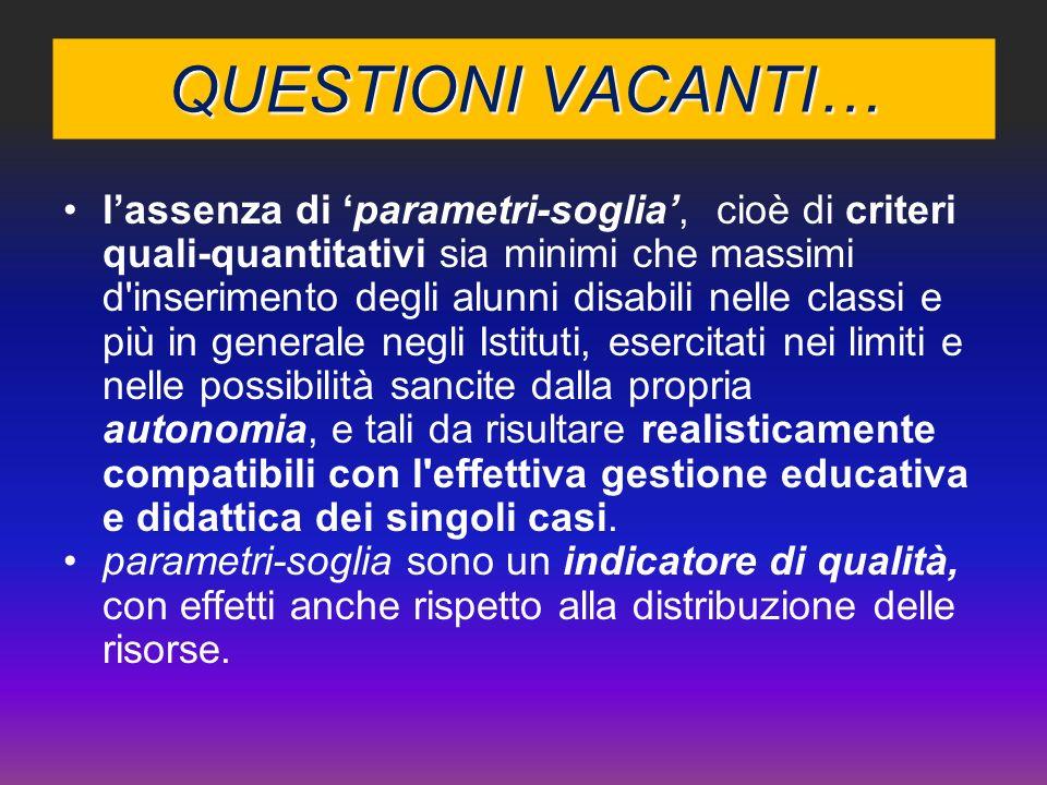 Indagine esplorativa sperimentale - Verso un Osservatorio Territoriale Integrato /Obiettivo 114 LA VARIANZA INTERNA A.S. 2007/08 differente distribuzi