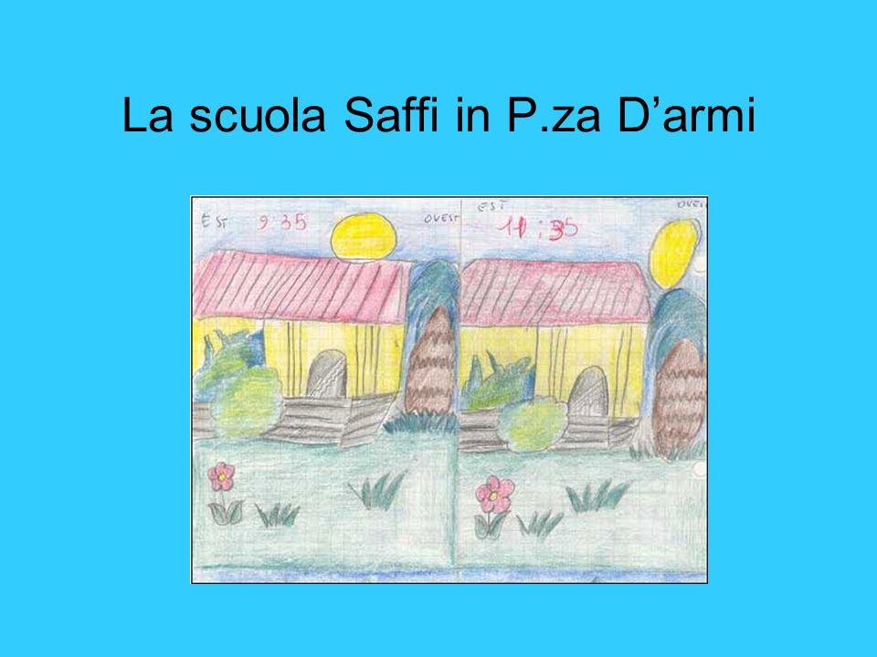 La scuola Saffi in P.za Darmi