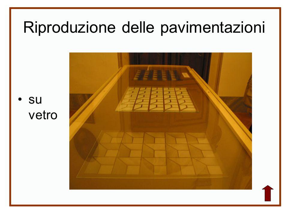 Riproduzione delle pavimentazioni su vetro