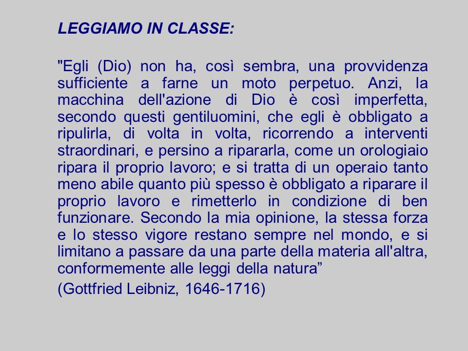 LEGGIAMO IN CLASSE: