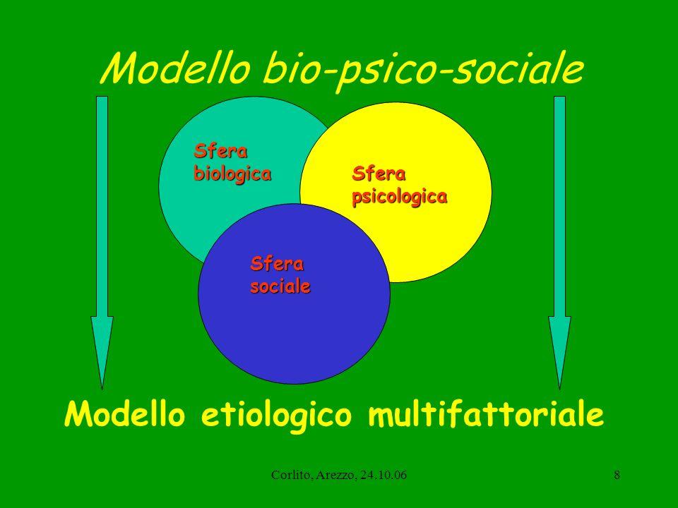 Corlito, Arezzo, 24.10.069 Una cultura condivisa del Dipartimento di salute mentale Un organico definito e unitario Un piano di formazione unico