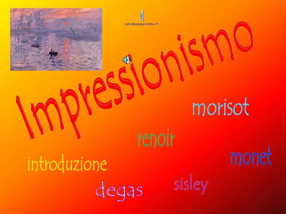 Limpressionismo è un movimento pittorico francese che nasce intorno al 1860 a Parigi.