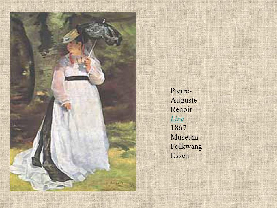 Pierre- Auguste Renoir Lise 1867 Museum Folkwang Essen Lise