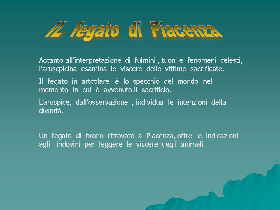 La religione etrusca subì fortemente linfluenza della mitologia greca.
