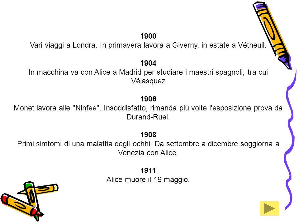 1912 La galleria Bernheim-jeune espone con grande successo le tele di Venezia.